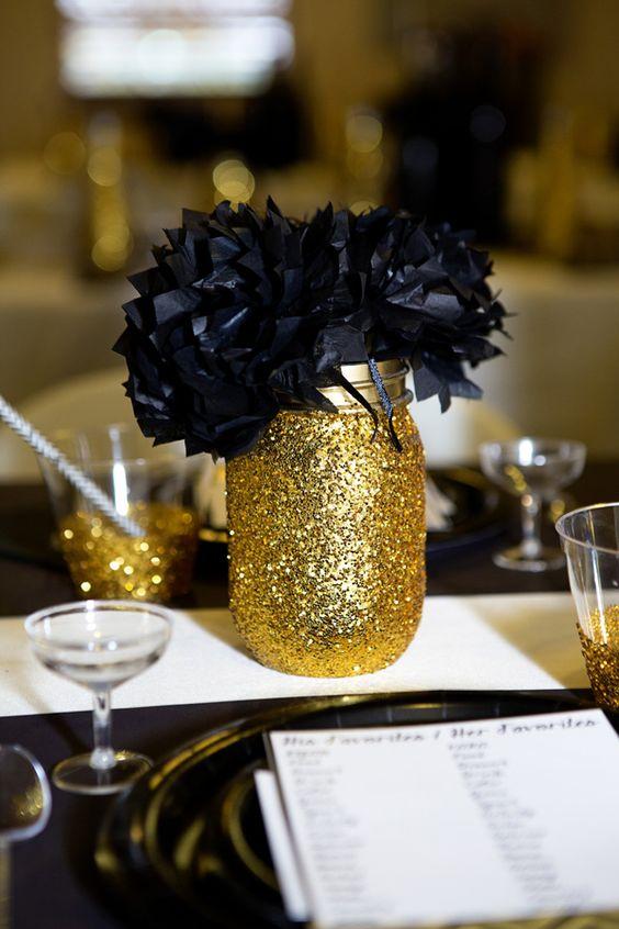Černo-zlatá svatba - Obrázek č. 36