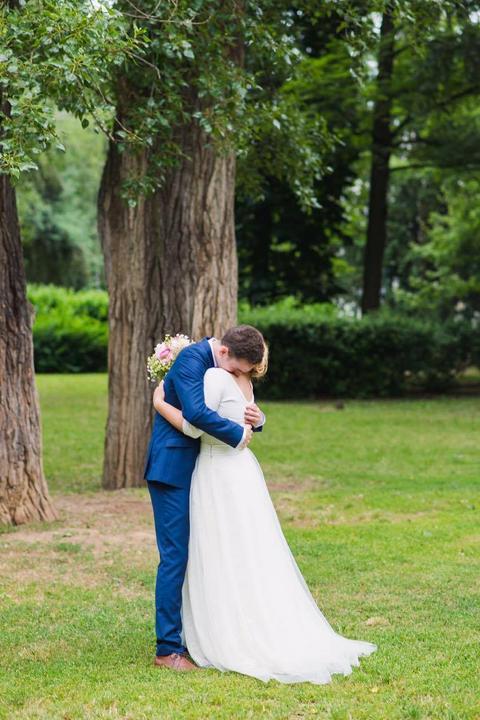 Svatební šaty - Marie Mukařovská - @anickaslepicka