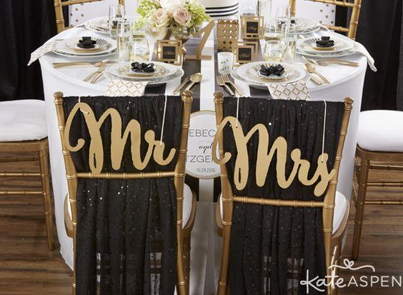 Černo-zlatá svatba - Obrázek č. 43
