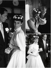 Audrey Hepburn a Mel Ferrer (1954)