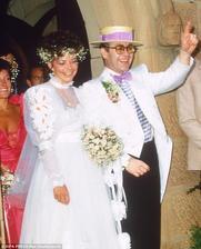 Elton John a Renate Blauel (1984)