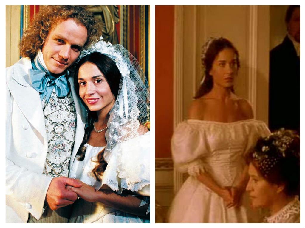 Svatby z filmů a seriálů - Andělská tvář