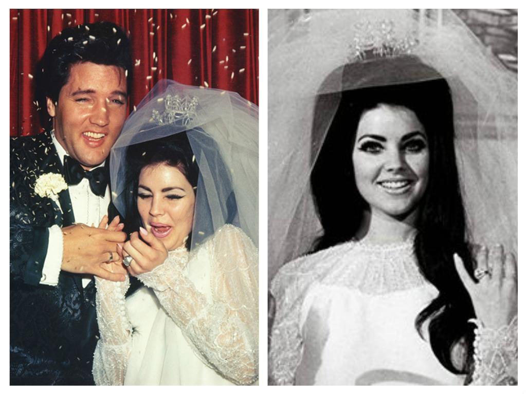 Svatby celebrit - Elvis Presley a Priscilla Ann Wagner (1967)