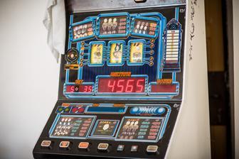 Hrací automat s našimi obličeji :-)