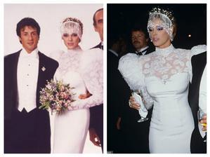 Sylvester Stallone a Brigitte Nielsen (1985)