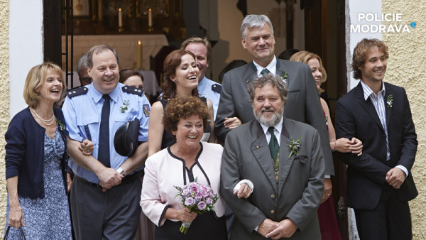 Svatby z filmů a seriálů - Policie Modrava