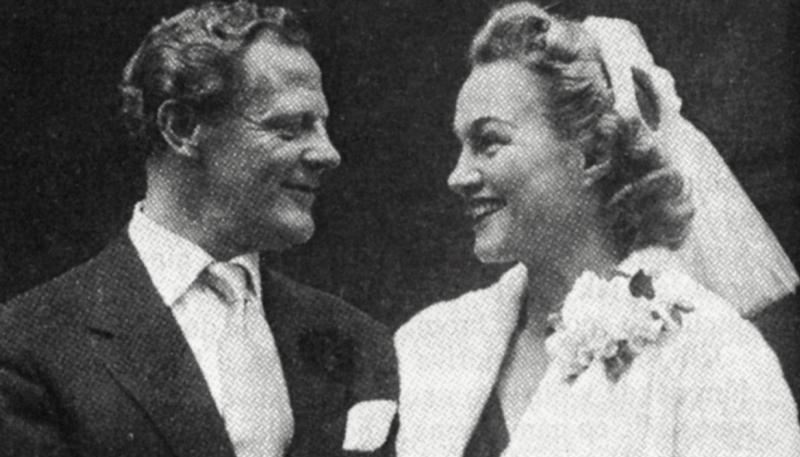 Svatby celebrit - Adina Mandlová a Ben Pearson (1954)