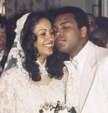 Muhammad Ali a Veronica Porsche (1977)