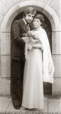Miroslav Donutil a manželka Zuzana (1977)