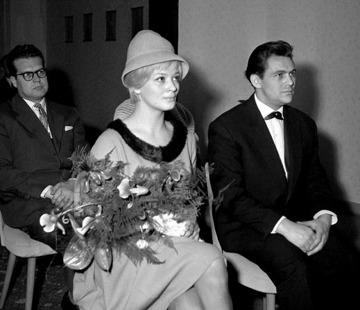 Svatby celebrit - Jana Breichová a Ulrich Thein (1962)