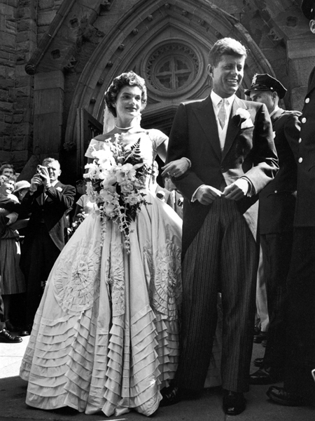 Svatby celebrit - John Fitzgerald Kennedy a Jacqueline Lee Bouvier (1953)