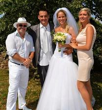 Davide Mattioli a manželka Lenka (2015)