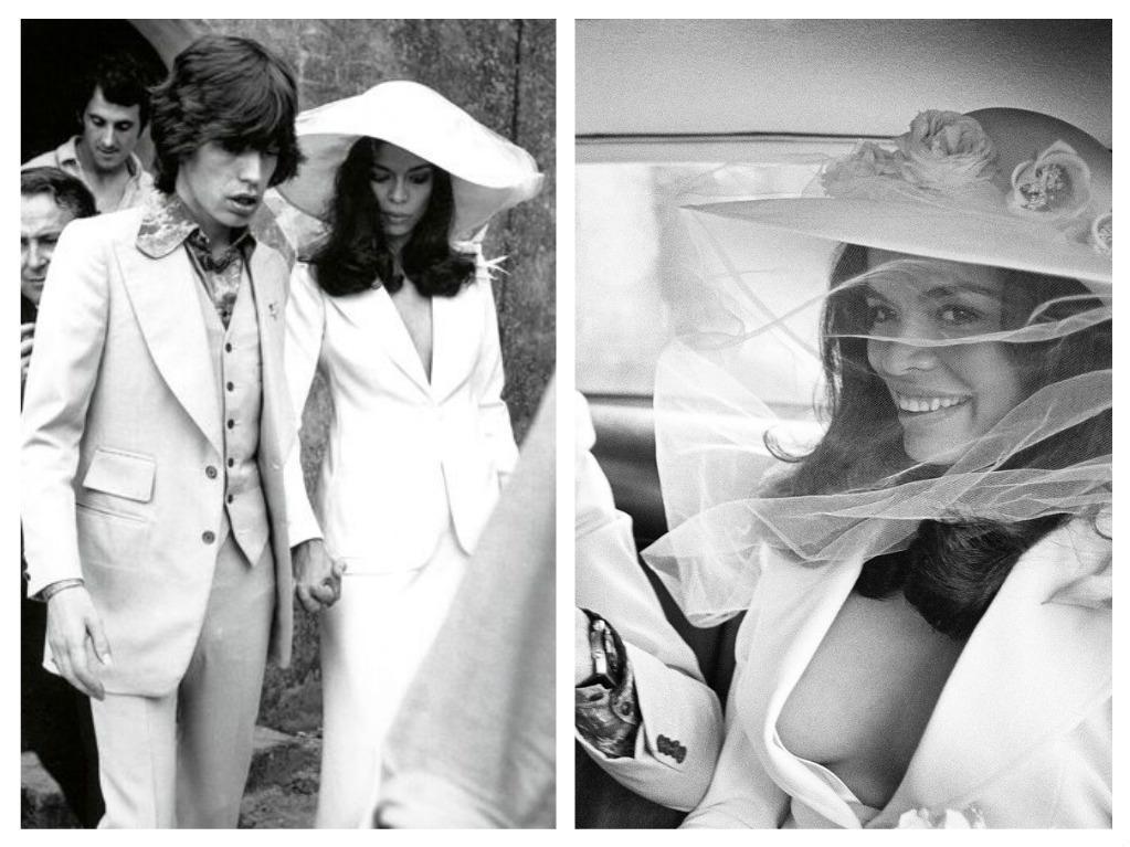 Svatby celebrit - Mick Jagger a Bianca Pérez-Mora Macias (1971)