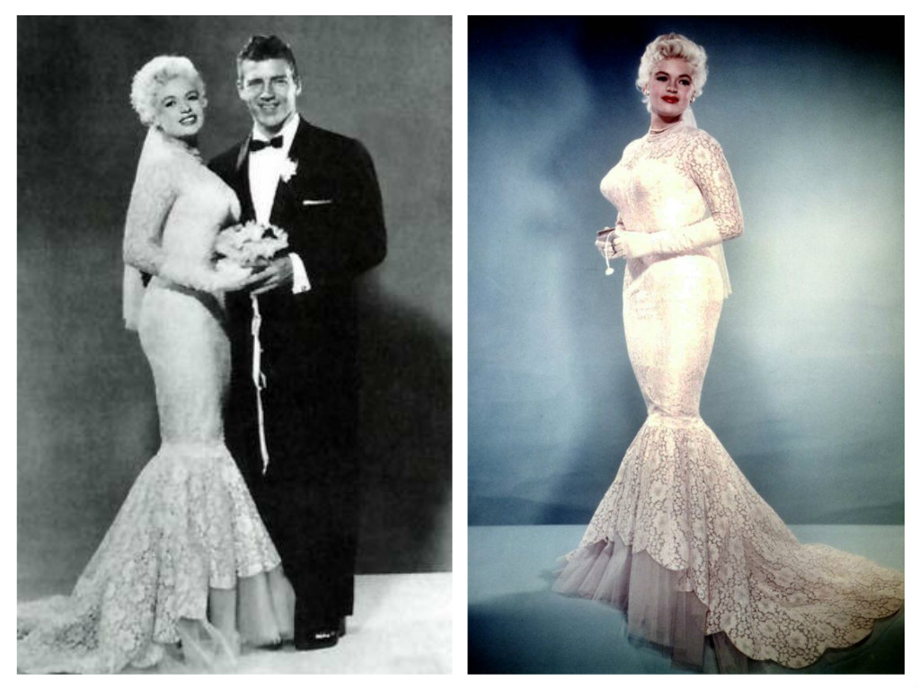 Svatby celebrit - Jayne Mansfield a Mickey Hargitay (1958)