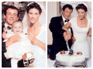 Sylvester Stallone a Jennifer Flavin (1997)