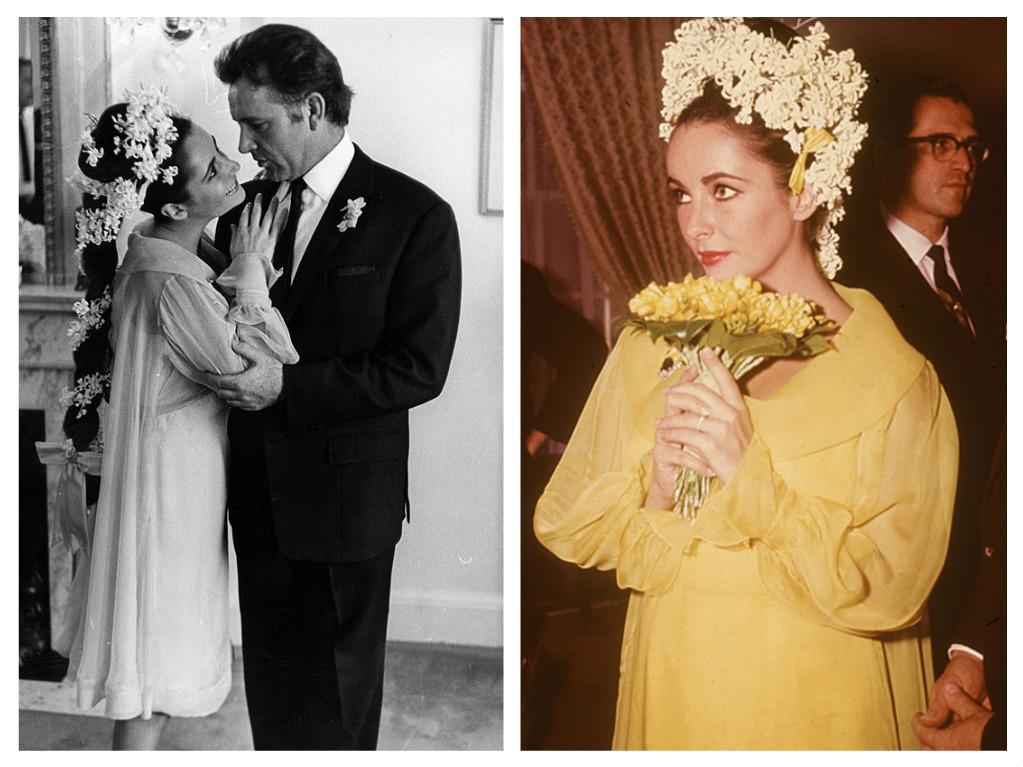 Svatby celebrit - Elizabeth Taylor a Richard Burton (1964)