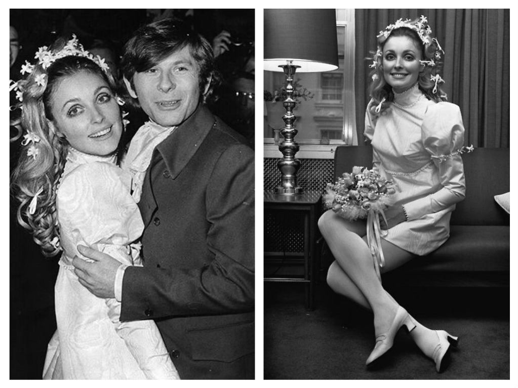Svatby celebrit - Roman Polanski a Sharon Tate (1968)