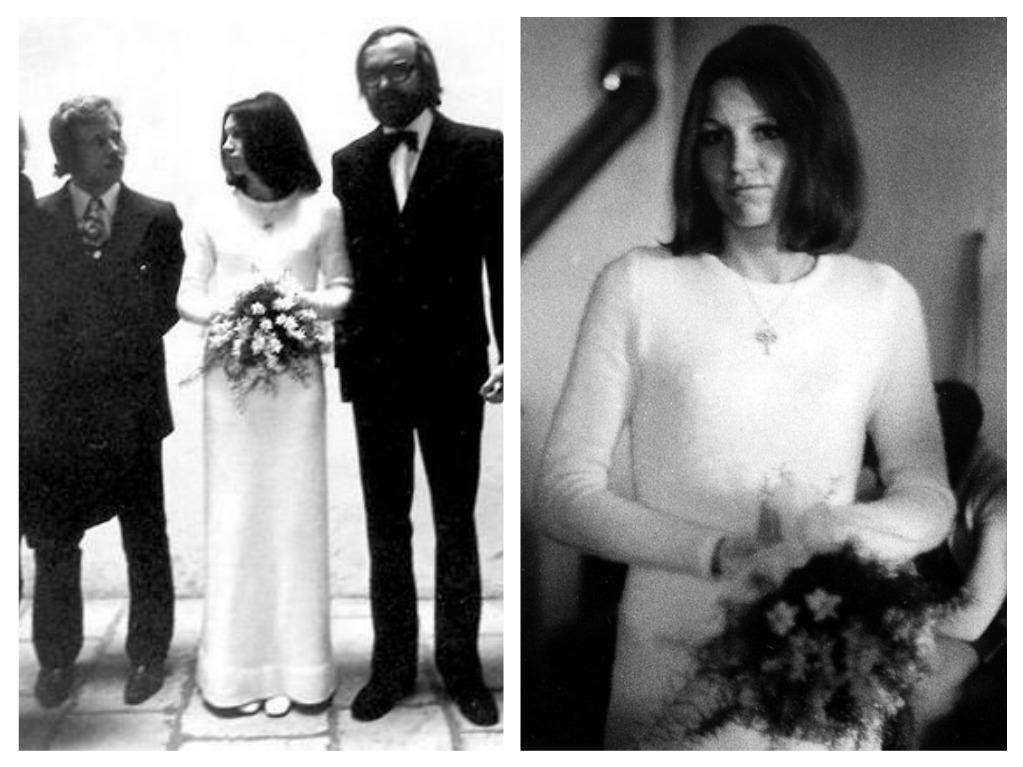 Svatby celebrit - Marta Kubišová a J. Moravec (1974)