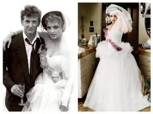 Madonna a Sean Penn (1985)