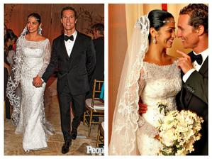 Matthew McConaughey a Camila Alves (2012)
