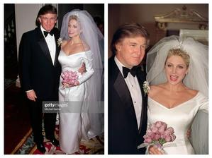 Donald Trump a Marla Maples (1993)