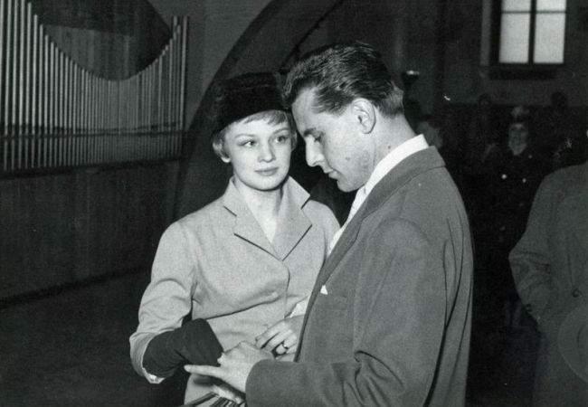 Svatby celebrit - Jana Brejchová a Miloš Forman (1958)