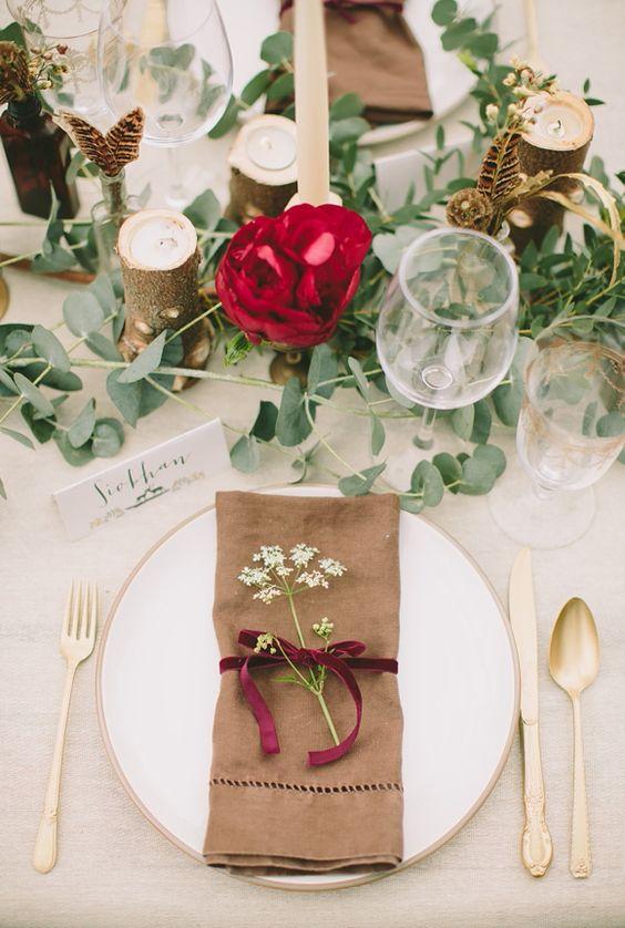 Prostírání stolů + jmenovky - Obrázek č. 7