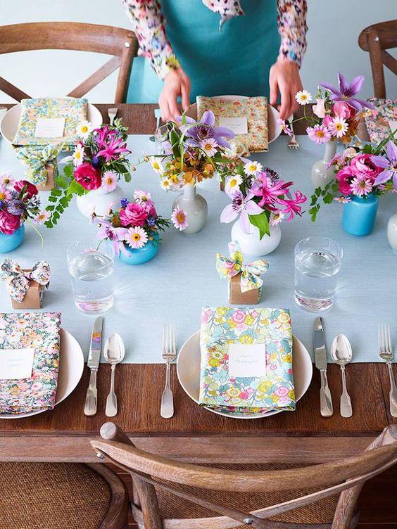 Prostírání stolů + jmenovky - Obrázek č. 21