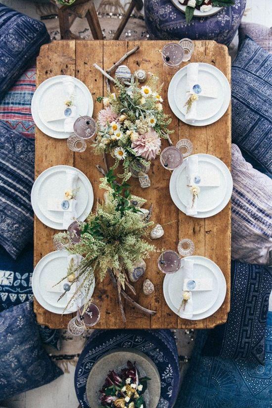 Prostírání stolů + jmenovky - Obrázek č. 34