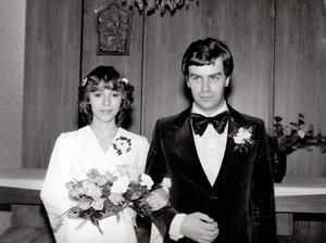 Heidi Hantlová (Janků) a Zbyněk Janků (1980)