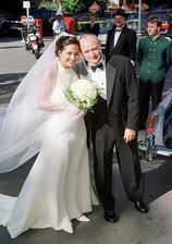 Phil Collins a Orianne Cevey (1999)