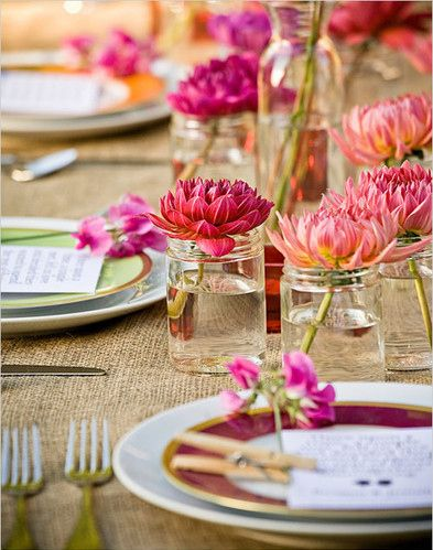Prostírání stolů + jmenovky - Obrázek č. 12