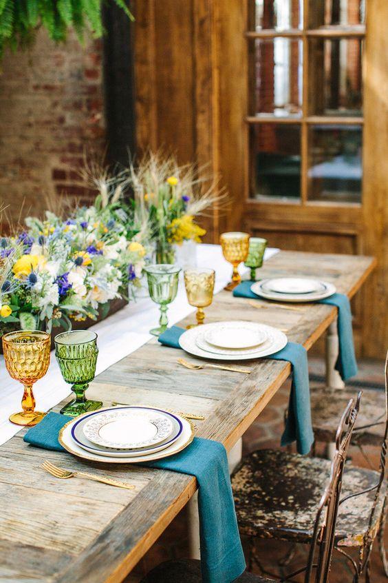 Prostírání stolů + jmenovky - Obrázek č. 25