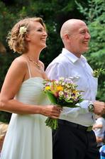 Robert Jašków a manželka Petra (2015)