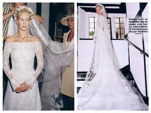 Claudia Schiffer - šaty