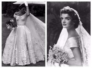 Jacqueline Lee Bouvier- šaty