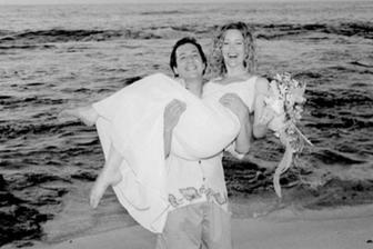 Leslie Mann a Judd Apatow (1997)