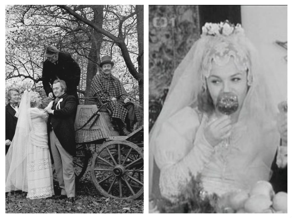 Svatby z filmů a seriálů - Byli jednou dva písaři
