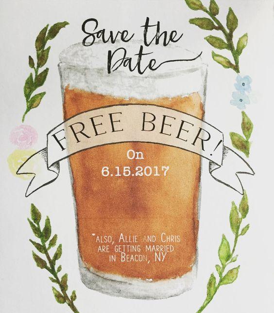 Kdyby svatbu plánoval ženich aneb láska v pívu :D - Bude pivo zdarma!