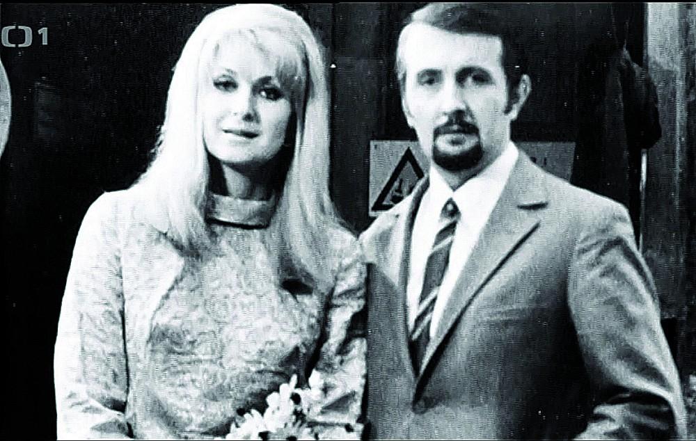 Svatby celebrit - Eduard a Blanka Hrubešovi