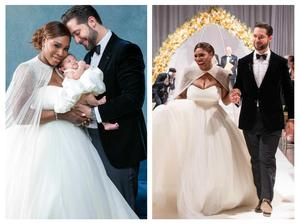 Serena Williams a Alexis Ohanian (2017)