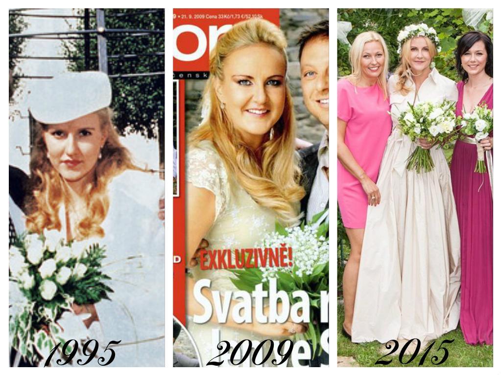 Celebrity - nevěstou dvakrát, třikrát i osmkrát :-D - Vendula Svobodová