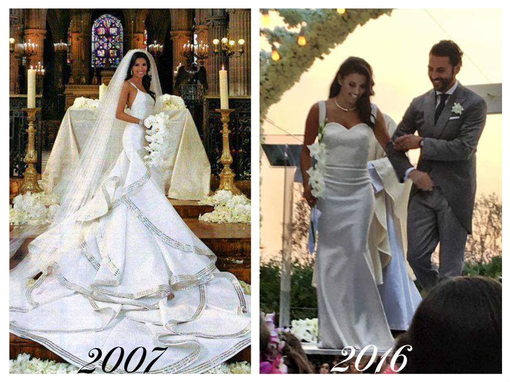 Celebrity - nevěstou dvakrát, třikrát i osmkrát :-D - Eva Longoria
