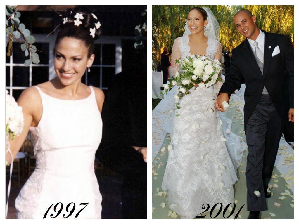 Celebrity - nevěstou dvakrát, třikrát i osmkrát :-D - Jennifer Lopez