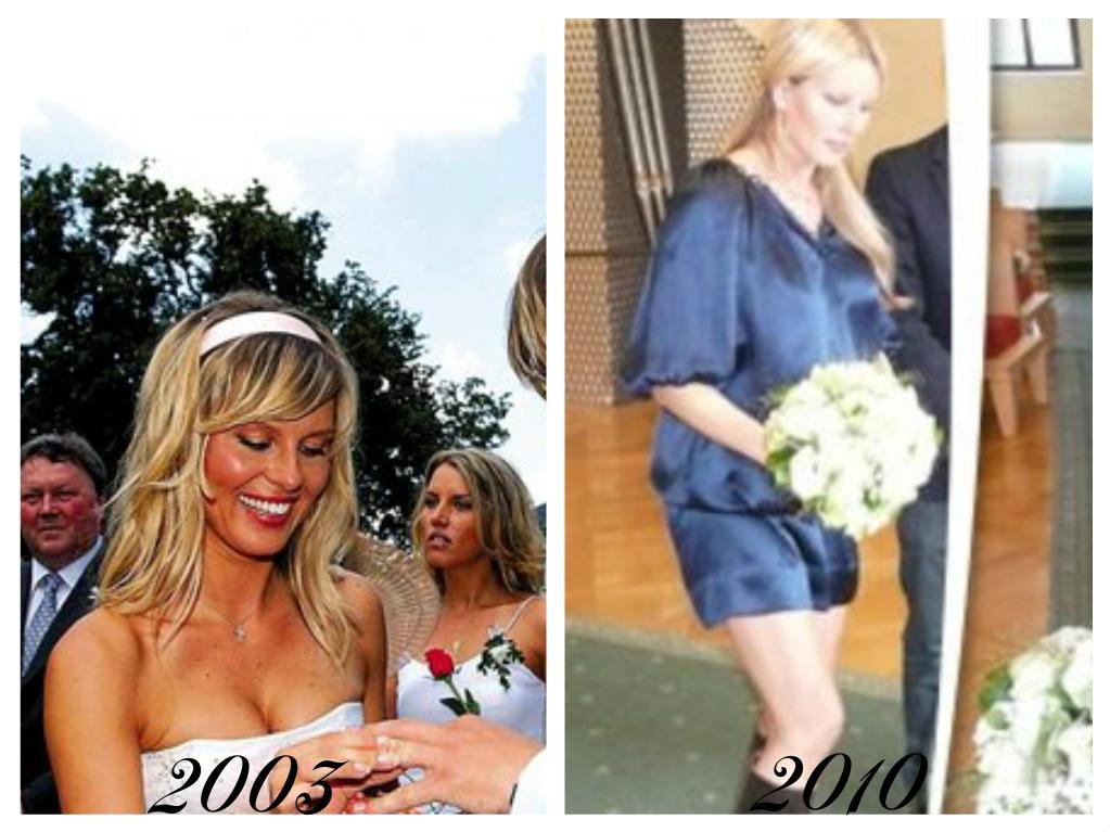 Celebrity - nevěstou dvakrát, třikrát i osmkrát :-D - Simona Krainová