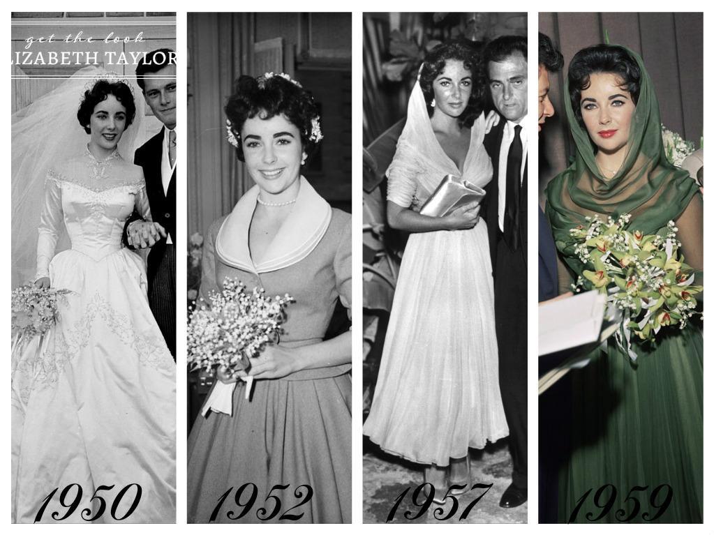 Celebrity - nevěstou dvakrát, třikrát i osmkrát :-D - Elizabeth Taylor