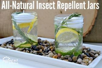 Tip pro venkovní svatbu - dobře vypadající odpuzovače hmyzu :-)