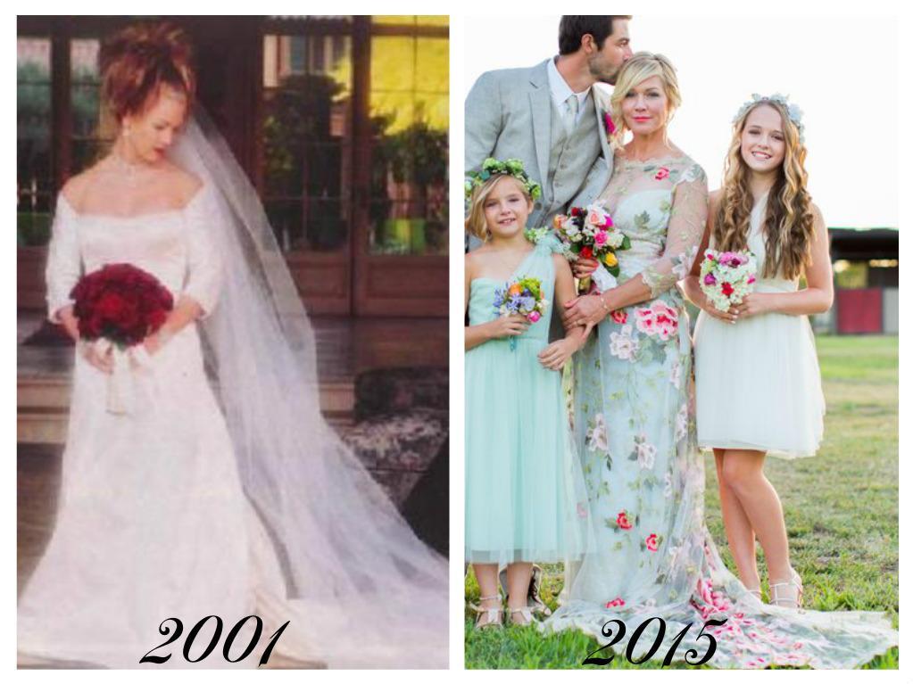 Celebrity - nevěstou dvakrát, třikrát i osmkrát :-D - Jennie Garth (Beverly Hills 902 10)