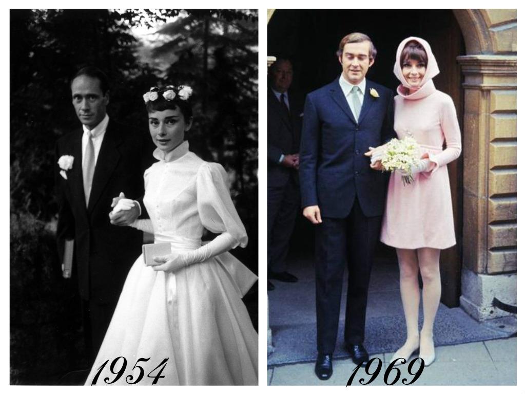 Celebrity - nevěstou dvakrát, třikrát i osmkrát :-D - Audrey Hepburn