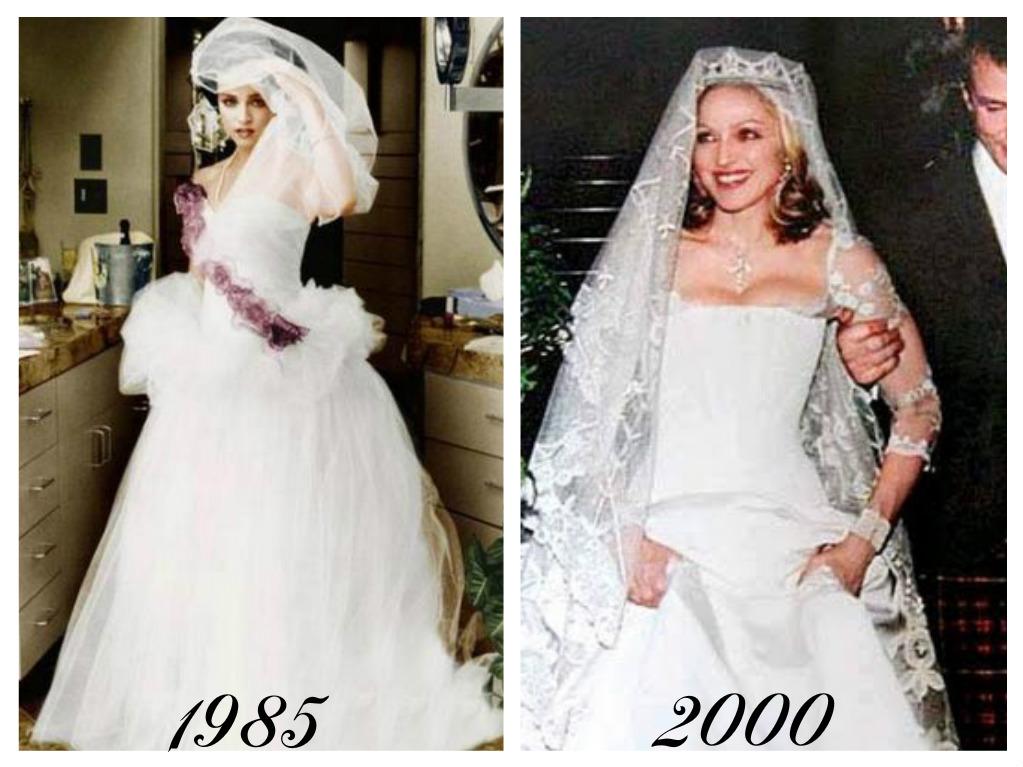 Celebrity - nevěstou dvakrát, třikrát i osmkrát :-D - Madonna